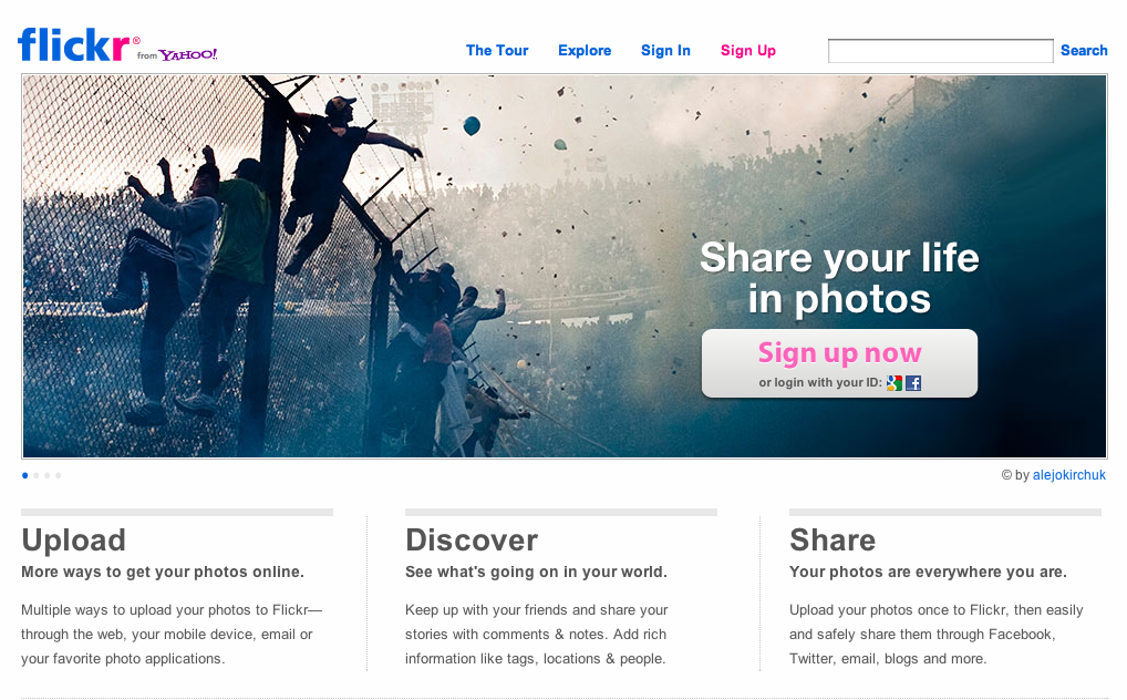 Image search: Flickr – To Google or not to Google?